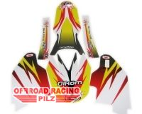 Olkom Trim Kit-Flower RMZ450 05-07